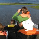 Boat ride in Iberá Wetlands