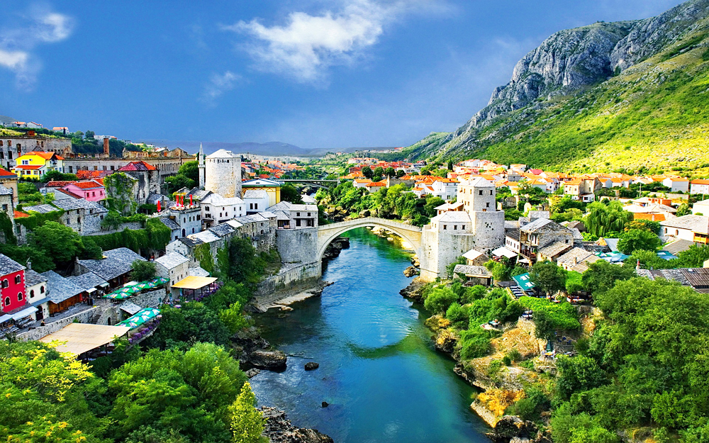 Our base will be in historic city of Mostar