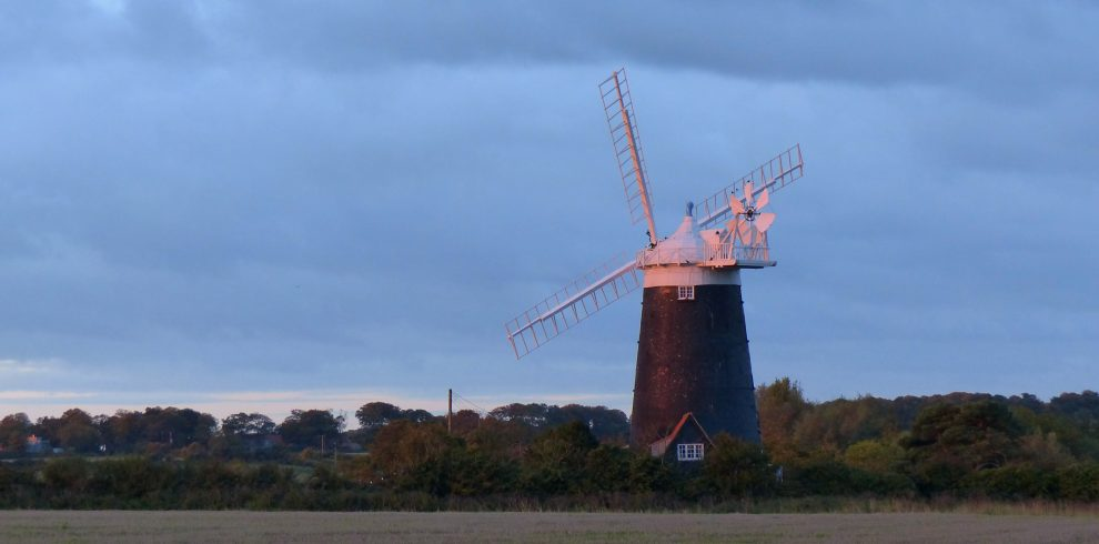 Windmill Burnham Norton Oct 2015