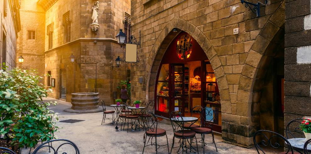 Traditional architectures in Barcelona, Spain